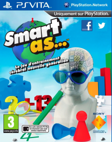 Smart As jaquette cover 29.09.2012.
