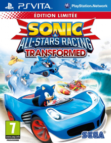 Sonic All Stars Racing Transformed Edition Linitee 31.10.2012.
