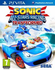 Sonic & All-Stars Racing transformed jaquette cover 31.10.2012.