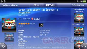 South Park PlayStation Store PSVita 002