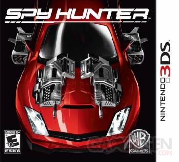 Spy Hunter jaquette 3ds 07.08