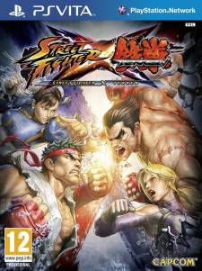 Street Fighter x Tekken jaquette 26.06