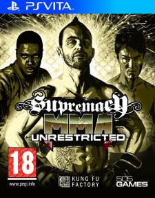 Supremacy MMA Unrestricted jaquette 29.06