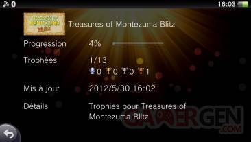 The Treasures of Montezuma Blitz trophees 01.06