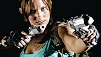 Tomb Raider Lara Croft Cosplay logo vignette 11.09.2012.