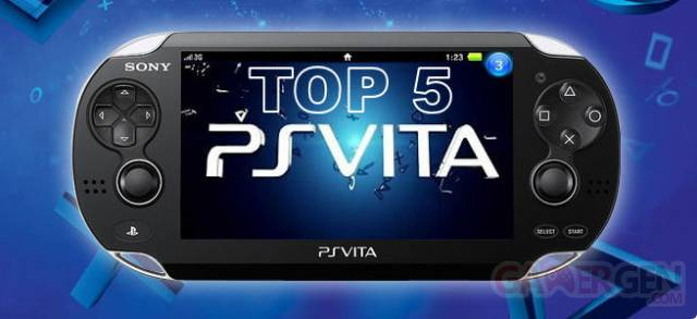 Top 5 PSVita classement 03.05