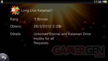 Touch My Katamari trophees bronze 04.05 (2)
