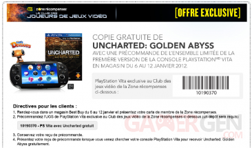 uncharted-golden-abyss-best-buy-bundle-playstation-vita-offert-coupon