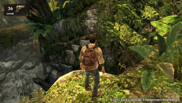 Uncharted Golden Abyss screenshots captures PSVita 033