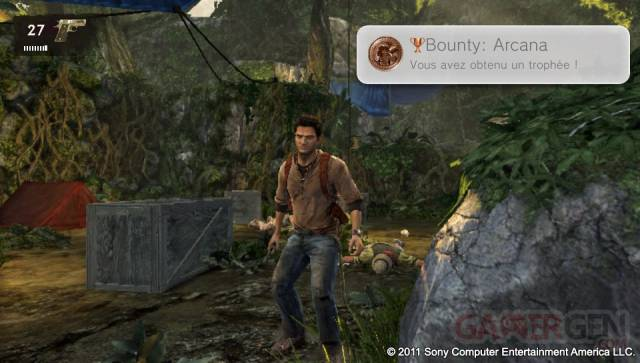 Uncharted Golden Abyss screenshots captures PSVita 073