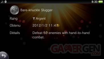 Uncharted Golden Abyss trophées ARGENT 02