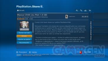 WipeOut 2048 PSN SEN PSVITA Captures screenshots 3