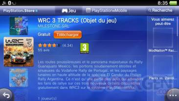 WRC 3 DLC contenu supplementaire 29.11.2012.