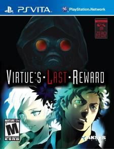 Zero Escape Virtue's Last Reward jaquette cover 17.09.2012